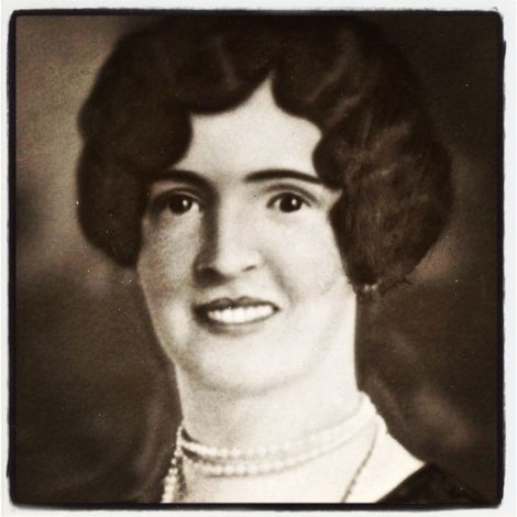 My grandmother, Nellie Brady Page, circa 1925.
