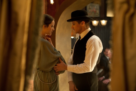 "Ewa (Marion Cotillard) and Emil aka ""Orlando the Magician"" (Jeremy Renner) in ""The Immigrant."""